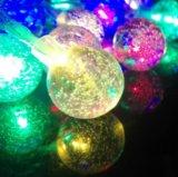 Волшебные шары гирлянда. Фото 1.