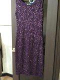 Платье в паетки 44-46р. Фото 1.