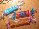 Мыльные кубики с буквами. Фото 2.
