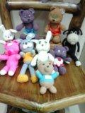 Вязанные игрушки тапочки. Фото 4.