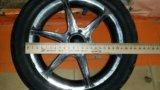 Колесо на коляску 12.1/2. Фото 1.