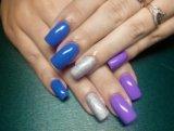 Покрытие ногтей гель-лаком. Фото 4.
