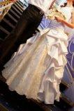 Свадебное платье белое золото. Фото 3.