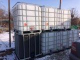Еврокуб, бак на 1000 литров, емкость для полива. Фото 1.