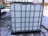 Еврокуб, бак на 1000 литров, емкость для полива. Фото 4.