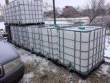 Еврокуб, бак на 1000 литров, емкость для полива. Фото 3.