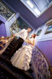 Свадебное платье белое золото. Фото 1.