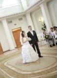 Свадебное платье белое золото. Фото 2.