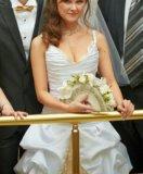 Свадебное платье белое золото. Фото 4.