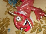 Змея - на пузе карман на замке. Фото 1.