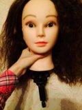 Голова для  причёсок;плетения косичек;. Фото 3.