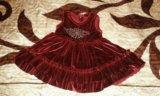 Платье для модницы. 86 см. Фото 2.