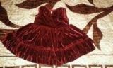 Платье для модницы. 86 см. Фото 3.