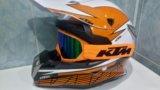 Мото шлем ктм мотошлем кроссовый кросс ktm. Фото 2.