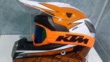 Мото шлем ктм мотошлем кроссовый кросс ktm. Фото 3.