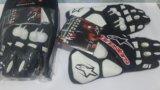 Мото перчатки alpinestars мотоперчатки кожаные s1. Фото 2.