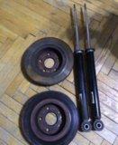 Опель астра j 1.4 turbo хэчбэк, задние ароматизато. Фото 1.