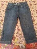 Укороченные брюки/ бриджи (джинсовые, вельветовые). Фото 2.