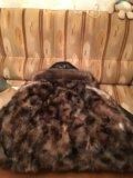 Мужская зимняя кожаная куртка. Фото 4.