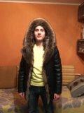 Мужская зимняя кожаная куртка. Фото 2.