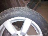 Одно колесо 215 60 17 зима шипы bridgestoun ice cr. Фото 3.