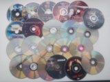 Двд диски в ассортименте. Фото 1.