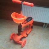 Самокат трехколесный скутер, доставка бесплатно. Фото 2.