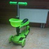 Самокат трехколесный скутер, доставка бесплатно. Фото 3.