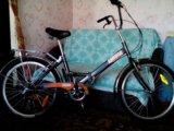 Продам складной дорожный велосипед 6 скоростей. Фото 4.