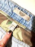 Джинсовые шорты. мужские. Фото 2.
