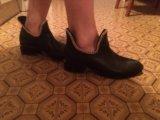 Ботинки кожаные. Фото 3.