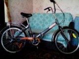 Продам складной дорожный велосипед 6 скоростей. Фото 1.