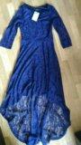Новое платье гипюр 42. Фото 3.