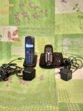 Цифровой радиотелефон + дополнительная трубка. Фото 1.