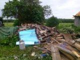 Очистка участков от мусора и металлолома. Фото 1.