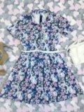 Платье деним. Фото 2.