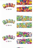 Слайдеры для ногтей bn 109-120. Фото 4.