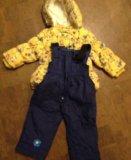 Куртка и брюки для девочки. Фото 2.