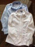 Рубашка  gulliver школьная для девочки. Фото 1.
