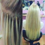 Горячее итальянское наращивание волос. Фото 1.