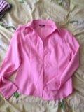 Рубашка розовая. Фото 1.