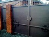 Ворота металлические. Фото 2.