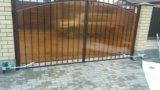 Ворота металлические. Фото 3.