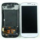 Дисплей samsung i9300/i9300i модуль белый tft. Фото 1.