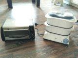Пароварка и печка. Фото 1.