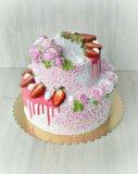 Свадебный торт. Фото 3.