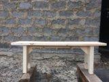 Лавка, скамья деревянная. Фото 3.