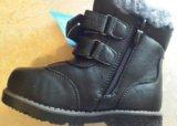 26р.новые зимние ботинки. Фото 3.