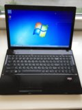"""Lenovo g585 15"""" e1 1.40ghz, ssd 120gb, 8gb ddr3. Фото 1."""