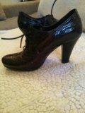 Туфли кожаные. Фото 1.
